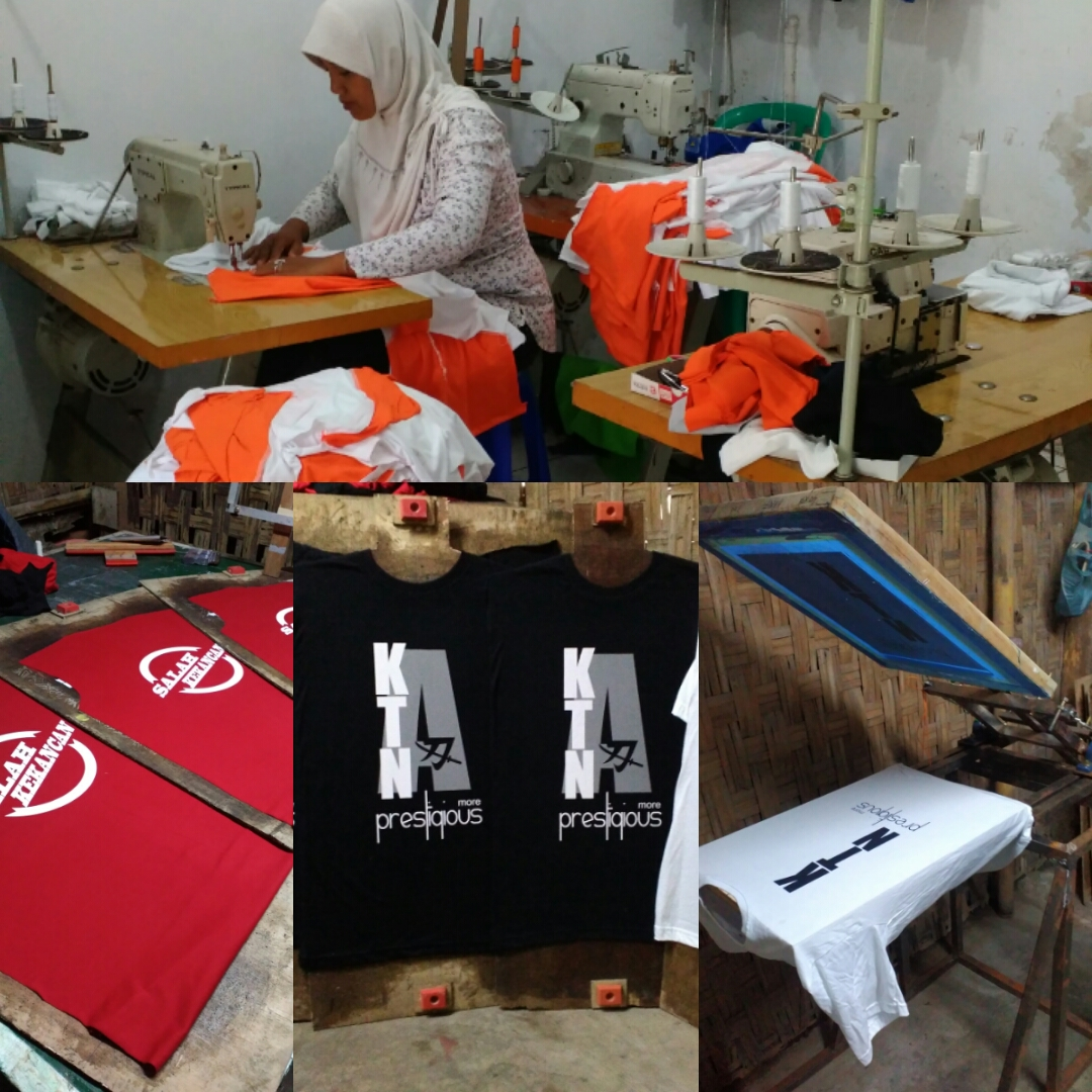 Sablon Kaos Manual Bikin Murah 02  Distro